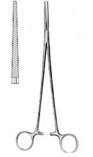 Bengolea Hemostatic Fcps str serr 20cm, S/S