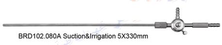 Suction irrigation 5mm  - شفاط لابروسكوب