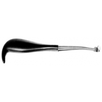 Single Stripper with hollw handle retractor 25cm, S/S مشرح احادي انجليزي SNAA