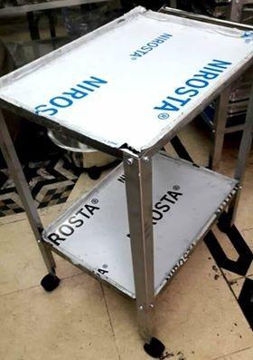 طاولة غيار 2 رف