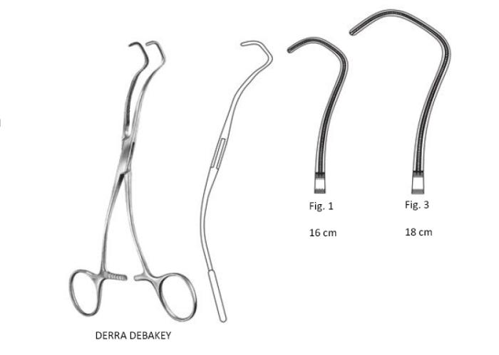 Derra Debaky Forcep fig.3  18 cm كلامب دبيكى ديرا 18سم انجليزي SNAA