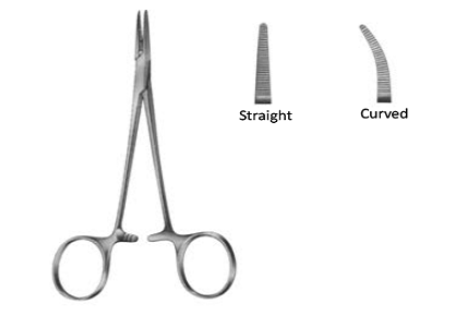 Artery forceps Halstead Mosquito curved 18 cm   ارتري شريانى لوز منحنى 18سم باكستاني