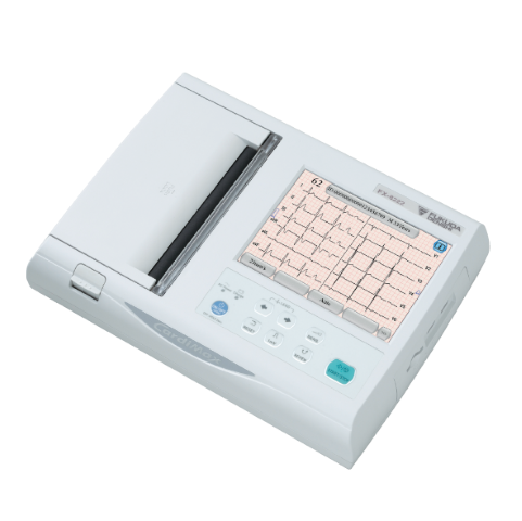 12channels Electrocardiograph CardiMax FX-8222