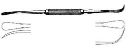 مباعد ومشرح 20سم  انجليزي                                                                                                                                 Freer Separator & Elevator Stripper sh/bl 20cm, S/S  SNAA Uk