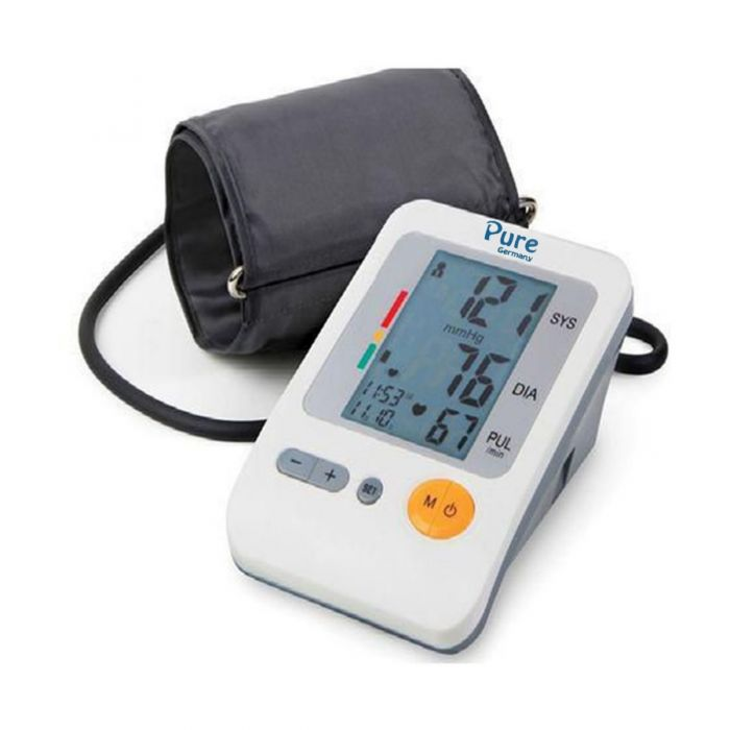 جهازقياس الضغط الديجيتال Pure Digital blood pressure Monitor