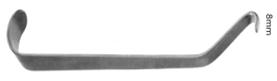 Mandibular Channel Retractor 8mm, 17cm, S/S مباعد لعظام الفك الخلفى 8 مم طول 16 سم  انجليزي SNAA