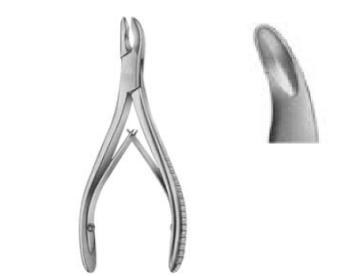 Luer , Bone Rongeurs ,15cm  قراضة عظام لوير 15سم انجليزي SNAA
