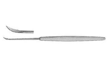 Sickle Knife , pointed 19cm انجليزي  snaa  سكينة شق طبلة 19سم