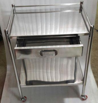 طاولة غيار 2 رف 40×60 سم  + درج
