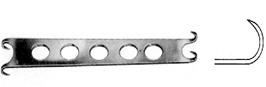 Converse Alar Retractor sharp D/E 12cm, S/Sمباعد الار انجليزي SNAA
