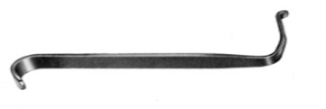 Dunn Dautrey Anterior Retractor. 6.5x60mm 14.5cm, S/S مباعد دون دوترى 6.5*60مم طول 14 سم انجليزي SNAA