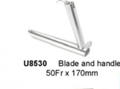 Blade and handle