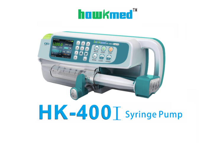 سرنجة محاليل Hawkmed syringe pump