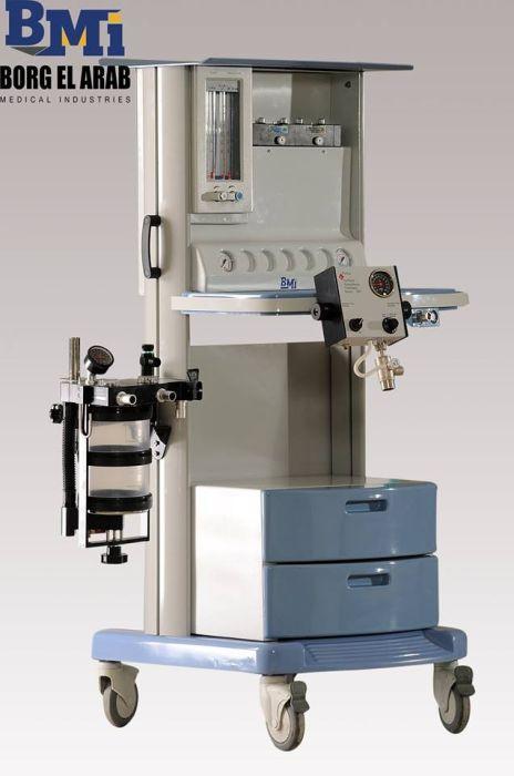 جهاز تخدير كامل مكون من: ستاند تخدير موديل AII Plus اثنان مبخر (فلوتيك) انتاج شركة Penlon الانجليزية.