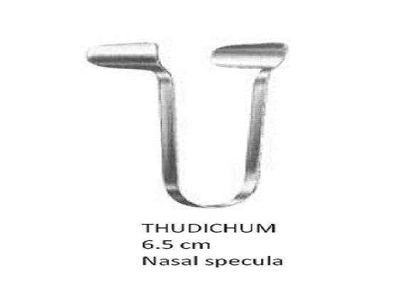 Thudichum  retractor (Nasal specula ) 6.5cm,fig مباعدانف صغير  انجليزي SNAA