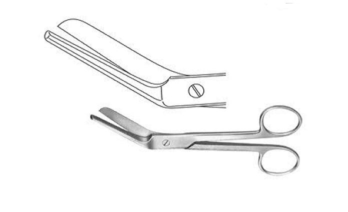 Ebisitomy scissors Braun stadler  22 cm مقص  نسا ابزومتى - مقص عجان 22سم انجليزي SNAA