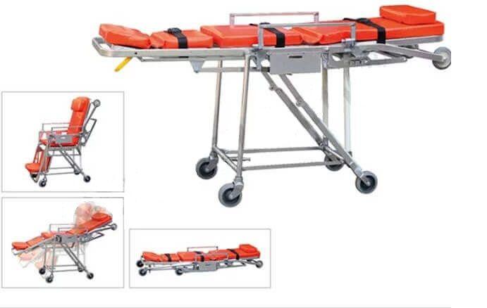 Automatic Loading Stretcher NF-A6 - تروللي اسعاف يتحول لكرسي