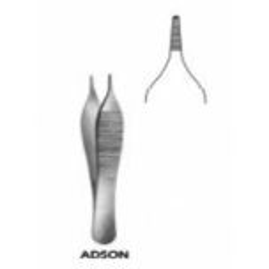 جفت اديسون بدون سن الماني Adson Forceps  non teeth NOPA