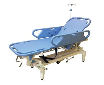 (تروللى نقل مريض) Stretcher صينى ماركة TME (بالمرتبة) Maximum safe load 250KG