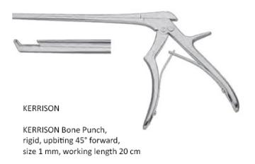 kerrison, Bone Punch ,upbitting 45°  20cm x 1mm كيرسون بانش انجليزي SNAA